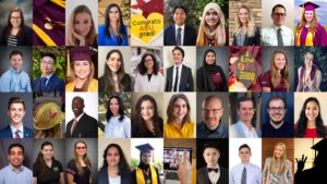 Photo collage of the Fulton Schools Spring 2020 Featured graduates