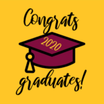 Twitter profile image with a maroon mortarboard with
